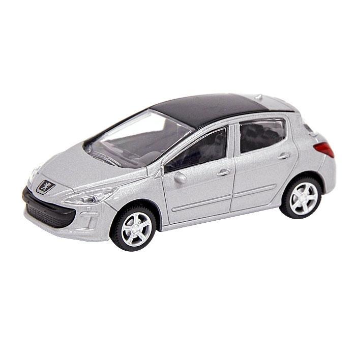 Металлическая машинка Peugeot 308, масштаб 1:43Peugeot<br>Металлическая машинка Peugeot 308, масштаб 1:43<br>