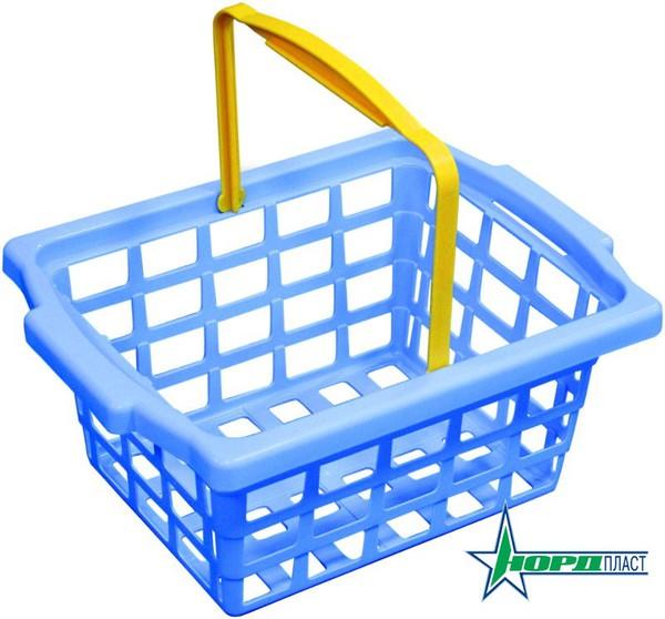 Корзинка для игры в магазинДетская игрушка Касса. Магазин. Супермаркет<br>Корзинка для игры в магазин<br>