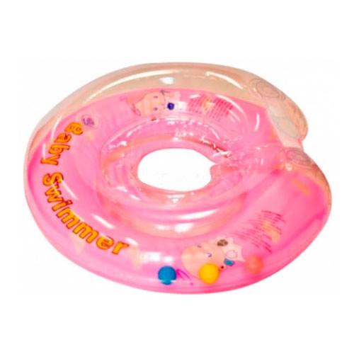 Круг на шею для купания детей от 6 до 36 кг., полуцветный, с погремушкойЗащита<br>Круг на шею для купания детей от 6 до 36 кг., полуцветный, с погремушкой<br>