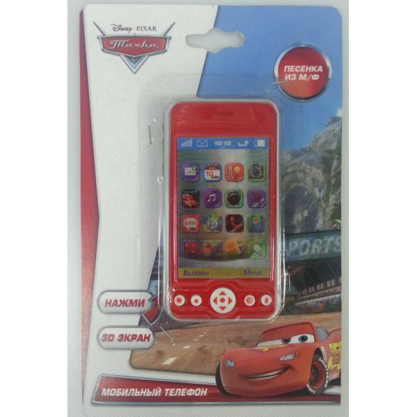 Телефон «Тачки» 3D экран, звуковые эффекты и песня героевCARS 3 (Игрушки Тачки 3)<br>Телефон «Тачки» 3D экран, звуковые эффекты и песня героев<br>