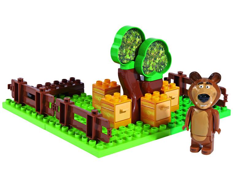 Конструктор Маша и Медведь - пчелиная ферма МишкиМаша и медведь игрушки<br>Конструктор Маша и Медведь - пчелиная ферма Мишки<br>