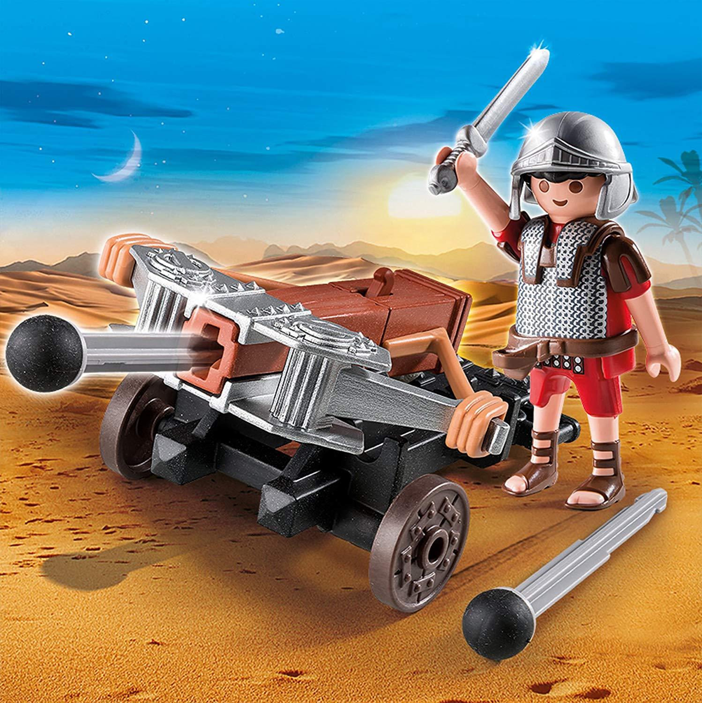 Купить Римляне и Египтяне: Легионер с баллистой, Playmobil