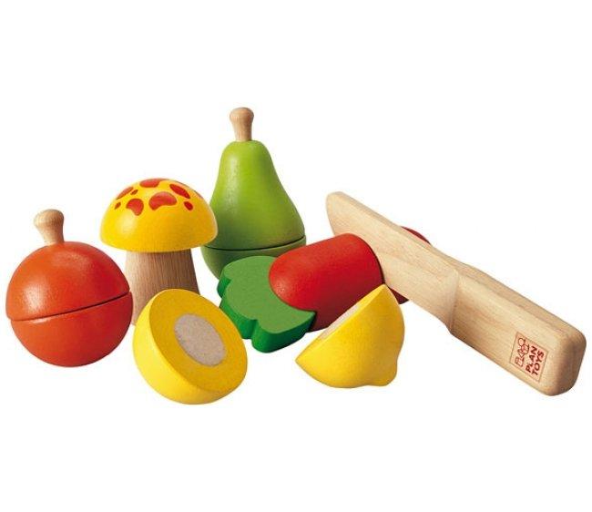 Купить Игровой набор фруктов и овощей, Plan Toys