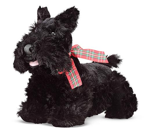 Мягкая игрушка «Щенок Скотч Терьер» - Собаки, артикул: 138715