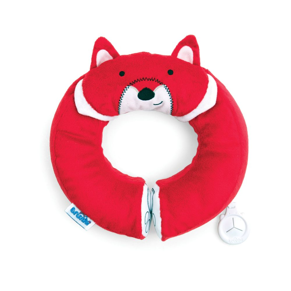 Подголовник Yondi Fox, красныйАксессуары для путешествий и прогулок<br>Подголовник Yondi Fox, красный<br>