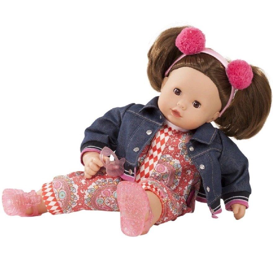 Купить Кукла в джинсовой куртке - Макси-Маффин, шатенка, 42 см, Gotz