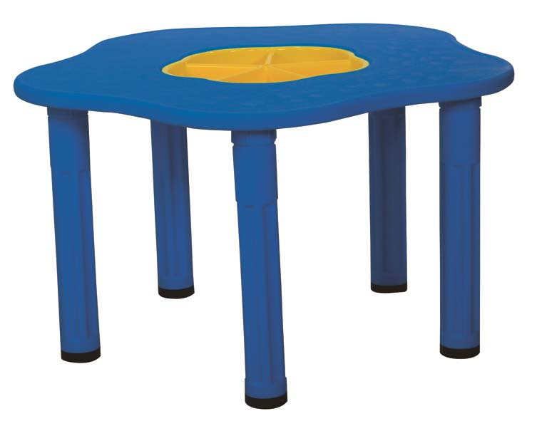 Купить Детский столик с системой хранения мелочей - Сэнди, синий, King Kids
