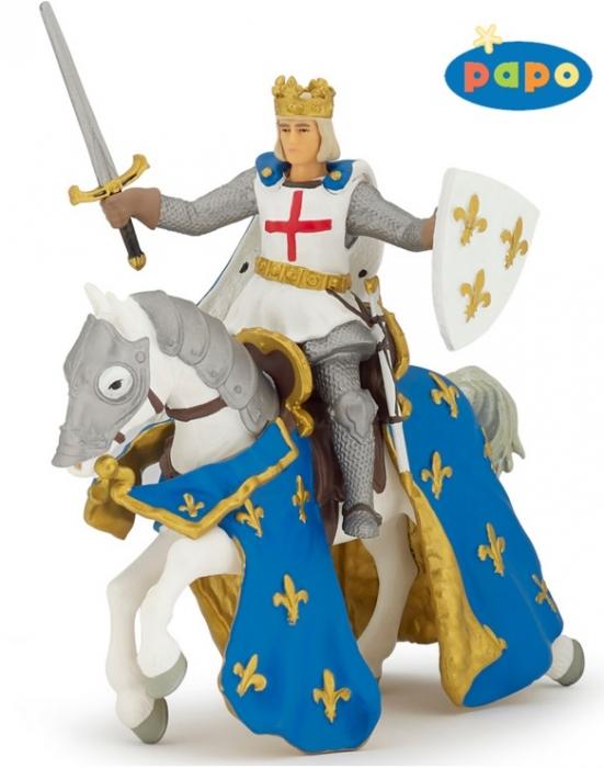 Игровая фигурка – рыцарь Сэнт Луис и его коньФигурки Papo<br>Игровая фигурка – рыцарь Сэнт Луис и его конь<br>