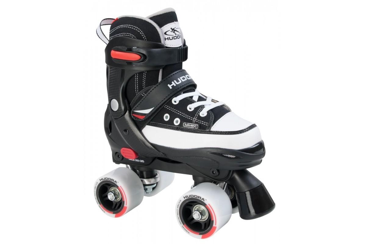 Купить Ролики Roller Skate 28-31, черный, Hudora