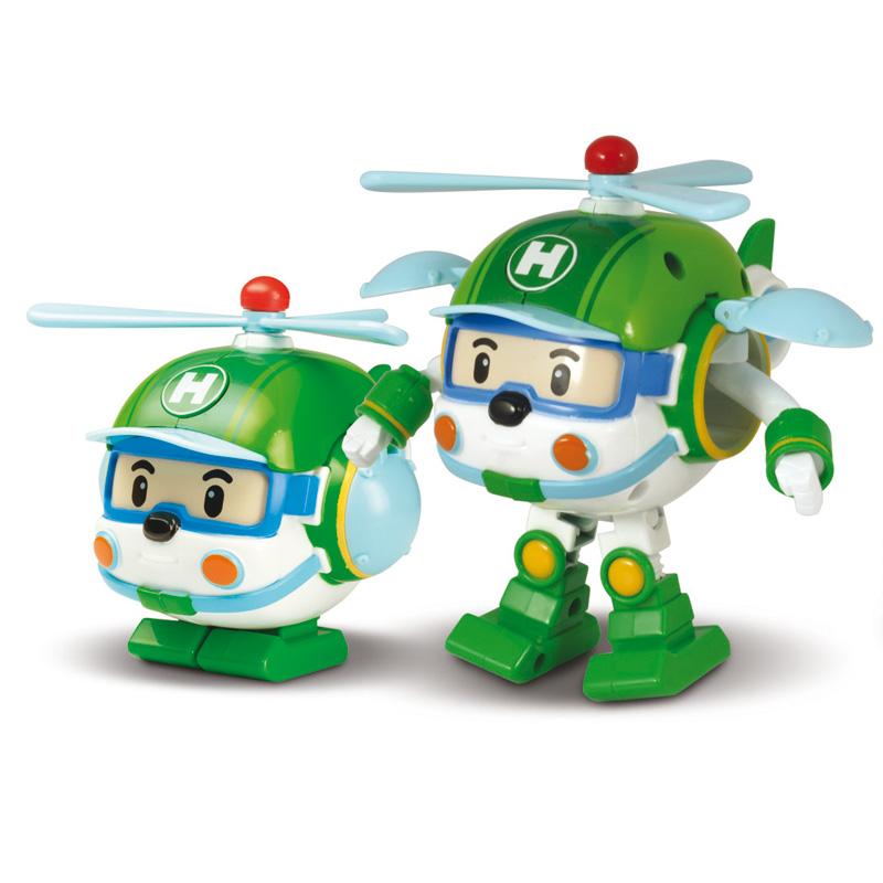 Игрушка – трансформер Вертолет Helly, 10 см. - Robocar Poli. Робокар Поли и его друзья, артикул: 24263