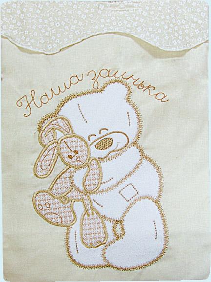 Постельное белье Сабина, 3 предмета, бежевоеДетское постельное белье<br>Постельное белье Сабина, 3 предмета, бежевое<br>