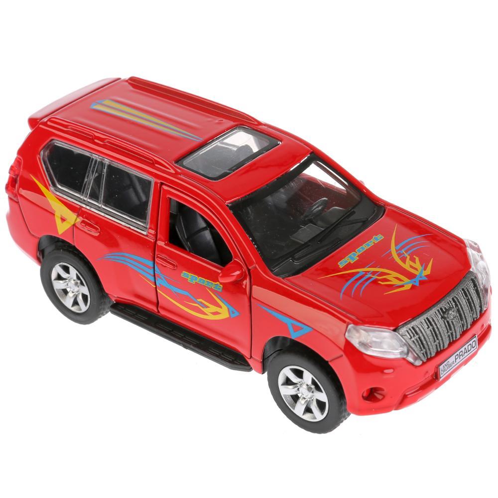 Купить Металлическая инерционная модель – Toyota Prado Спорт, 12 см, Технопарк