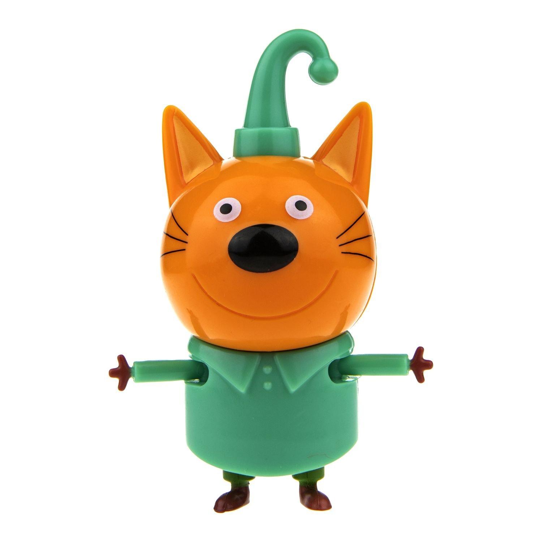 Фигурка героя мультфильма Три кота – Компот, 7,3 см, подвижные ножки и ручки 1TOY