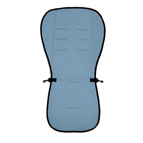 Купить Матрасик вкладыш из ткани Lifeline Polyester с покрытием 3D Mesh, размер 83 x 42 см., цвет светло-синий, Altabebe