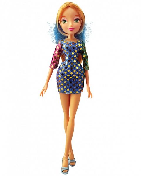 Кукла Winx Club - Диско Flora фото