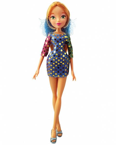 Кукла из серии Winx Club - Диско FloraКуклы Винкс (Winx)<br>Кукла из серии Winx Club - Диско Flora<br>