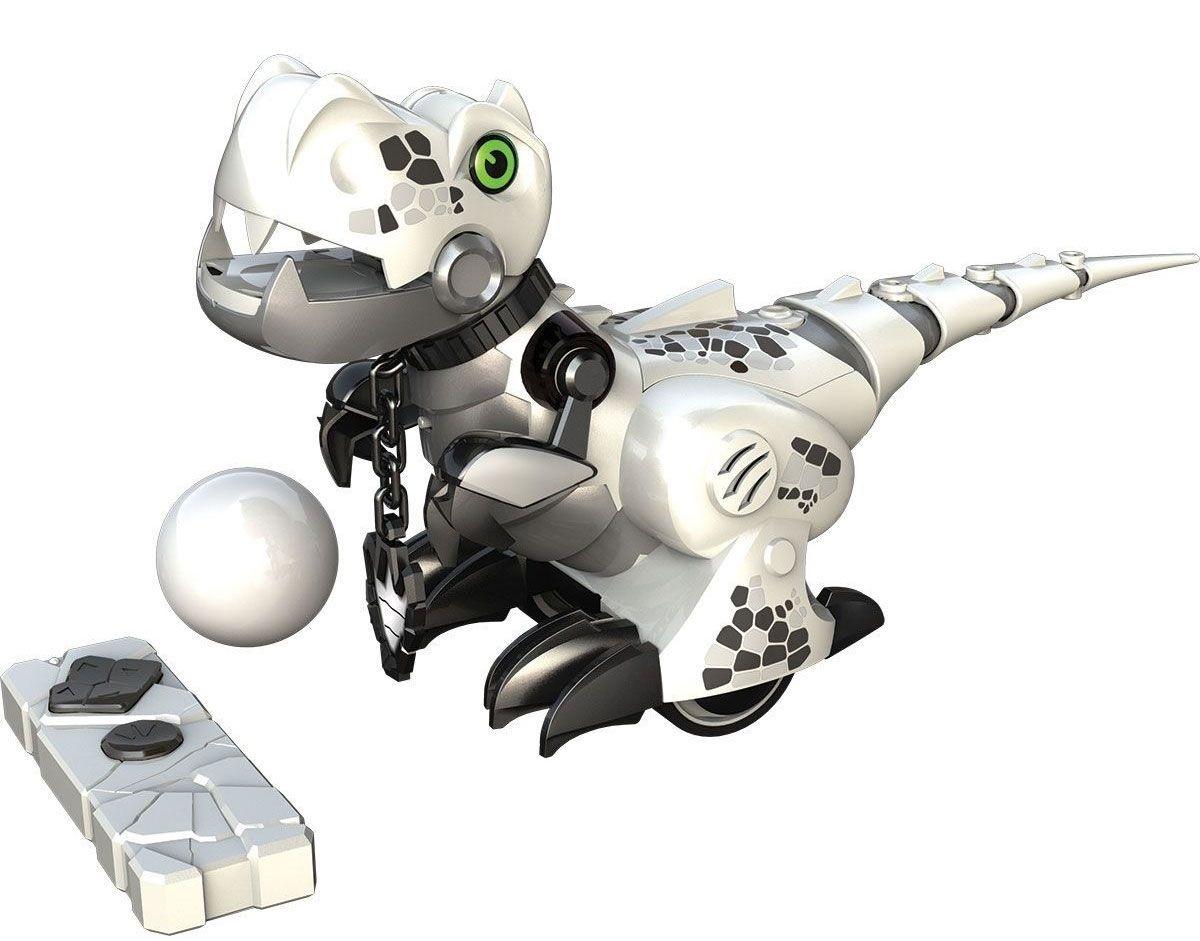 Робот интерактивный «Приручи динозавра», белый - Интерактивные животные, артикул: 165572