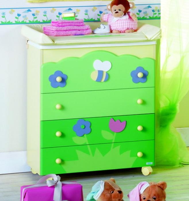 Купить Пеленальный столик А.701 Primavera, Mibb