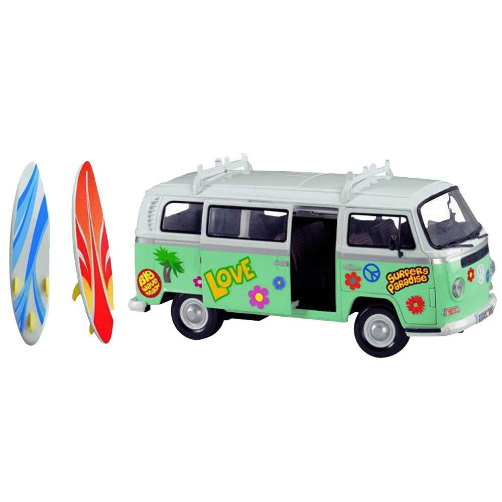 Машина для серферов фрикционная – с наклейками фото