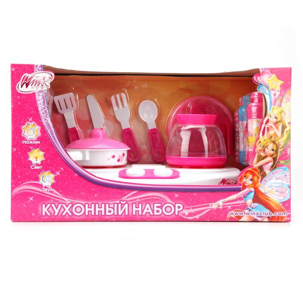 Плита «Винкс» со световыми и звуковыми эффектами, аксессуарамиАксессуары и техника для детской кухни<br>Плита «Винкс» со световыми и звуковыми эффектами, аксессуарами<br>