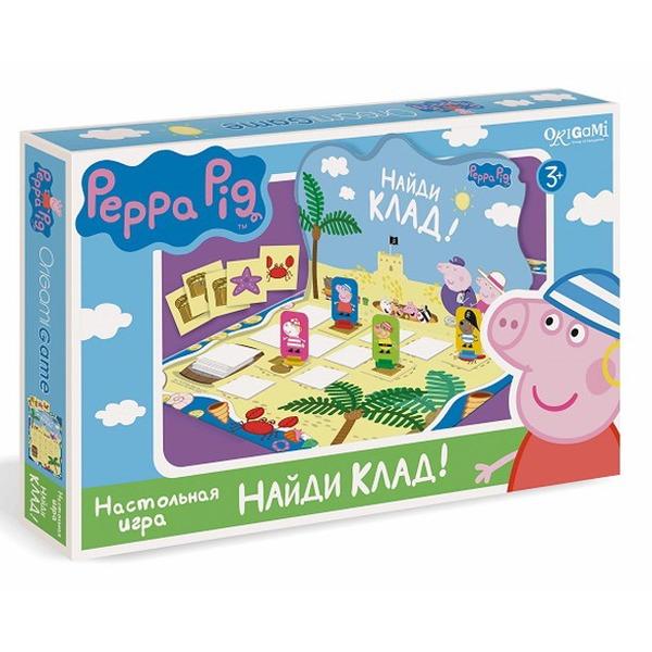 Peppa Pig. Игра настольная. Найди клад!Свинка Пеппа Peppa Pig<br>Peppa Pig. Игра настольная. Найди клад!<br>