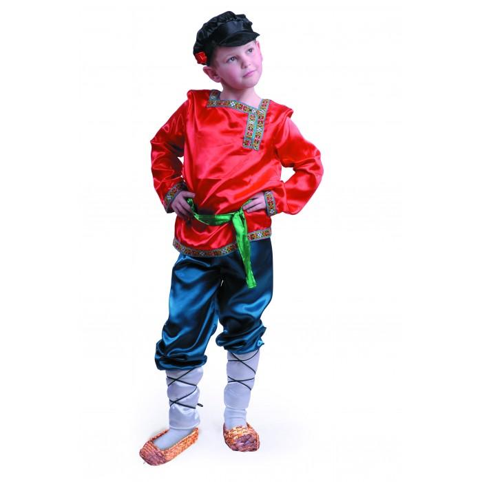 Карнавальный костюм Ванюшка, текстиль размер 116-60 фото