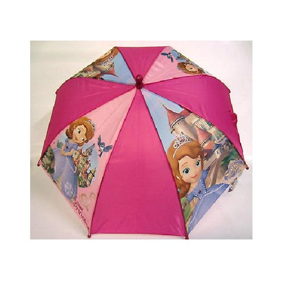 Зонт-трость из серии Disney Sofia the First, 37,5 см.Детские зонты<br>Зонт-трость из серии Disney Sofia the First, 37,5 см.<br>