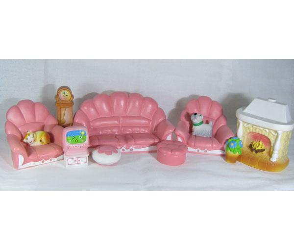 Набор игрушечной мебели, 2 цветаКукольные домики<br>Набор игрушечной мебели, 2 цвета<br>