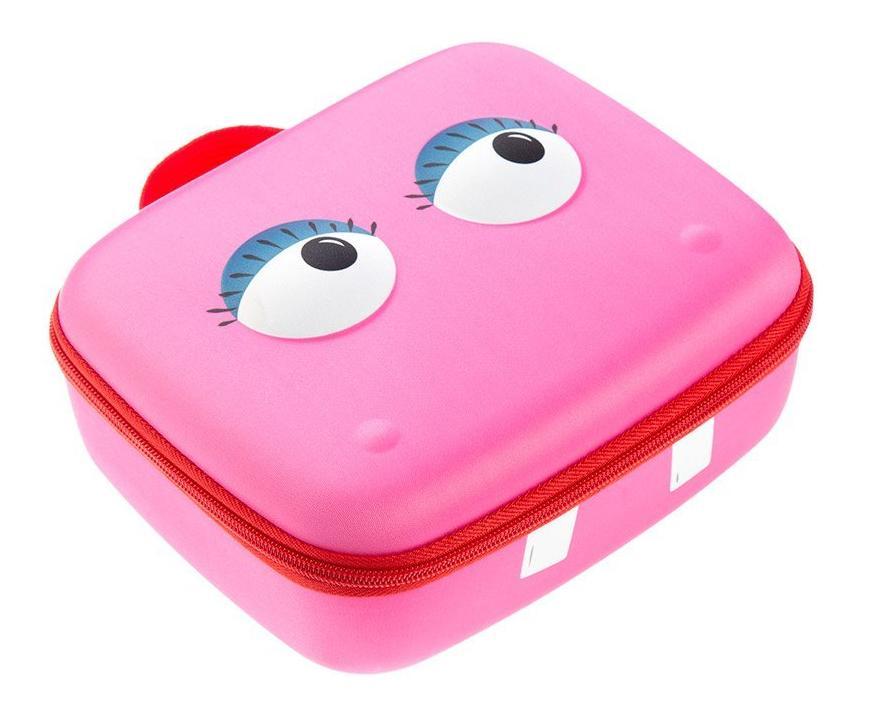 Чемоданчик Beast Box, розовый, размер 23 х 19 х 9 см. - Канцтовары для школы, артикул: 169283