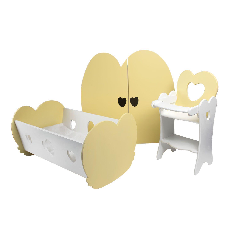Купить Набор кукольной мебели - Мини, 3 предмета, Paremo