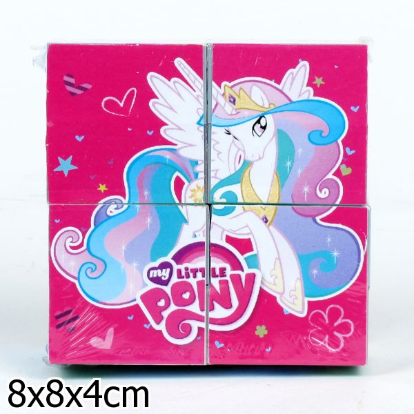 Деревянные кубики «My Little Pony» 4 шт.Кубики<br>Деревянные кубики «My Little Pony» 4 шт.<br>