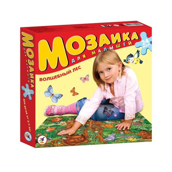 Мозаика для малышей. Волшебный лес.Пазлы для малышей<br>Мозаика для малышей. Волшебный лес.<br>