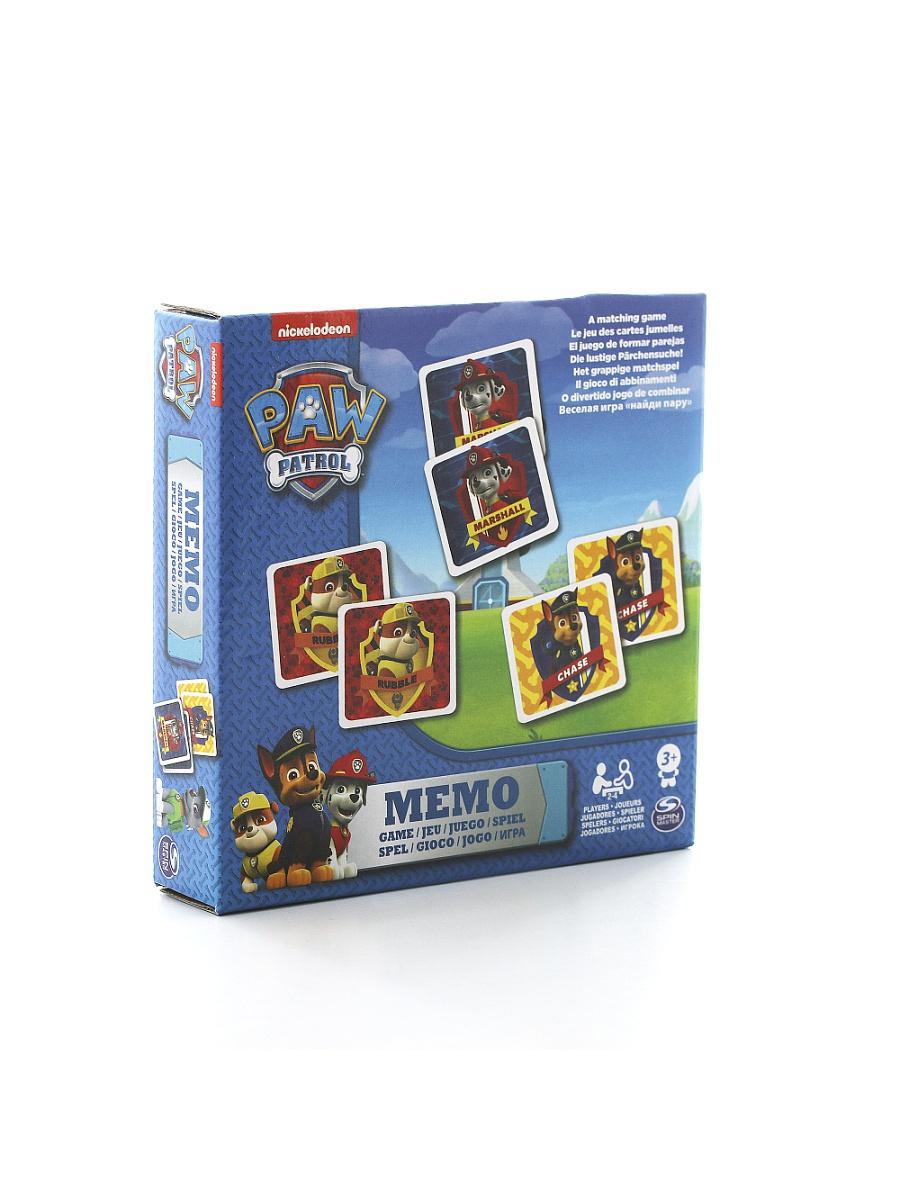 Купить Игра Мемори из серии Щенячий Патруль, 48 карточек, Spin Master