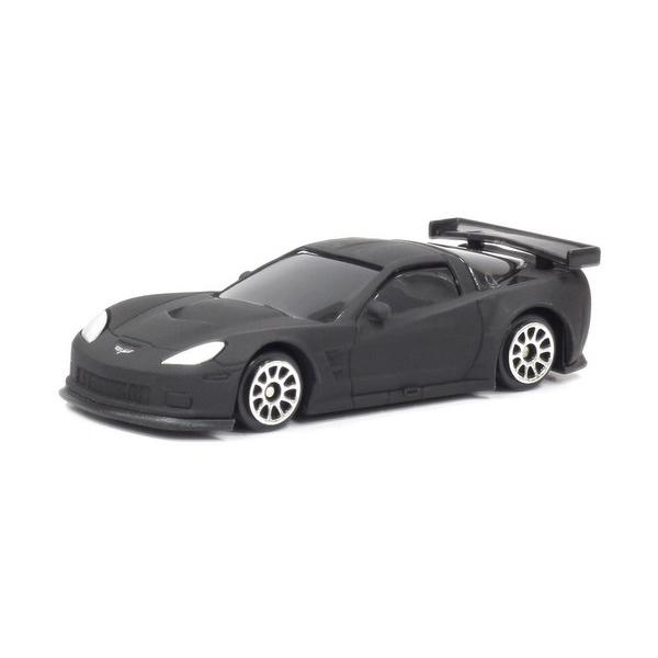 Купить Машина металлическая RMZ City - Chevrolet Corvette C6R, 1:64, черный матовый цвет