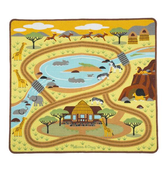 Коврик  Сафари - Детские развивающие коврики для новорожденных, артикул: 170568