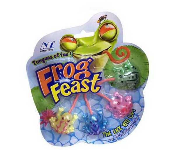 Игрушка-антистресс Лизун - Лягушки Frog Feast