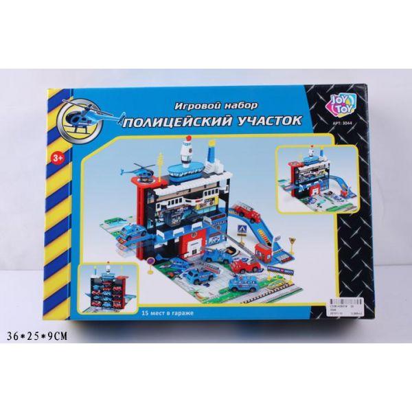 Набор игровой – Полицейский участок, с машинками и аксессуарами