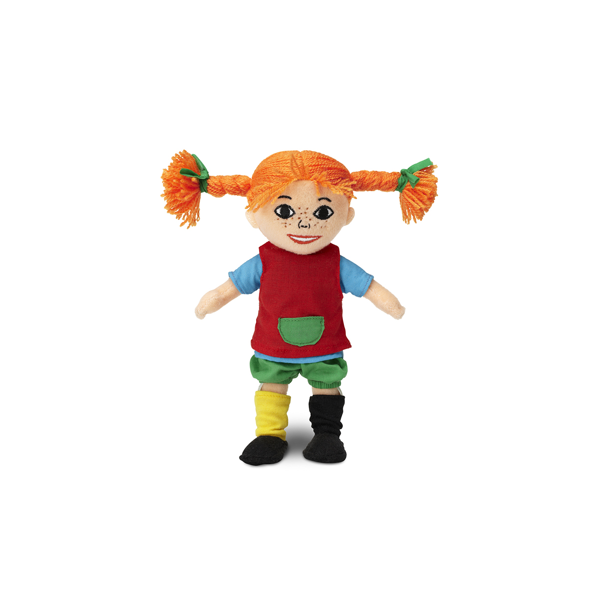 Кукла мягконабивная - Пеппи Длинный чулок, 20 см фото