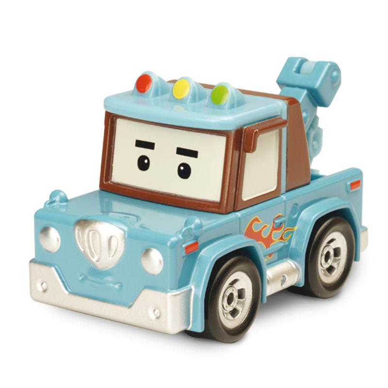 Металлическая машинка – Спуки, 6 смRobocar Poli. Робокар Поли и его друзья<br>Металлическая машинка – Спуки, 6 см<br>