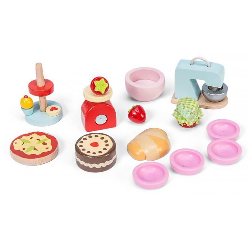 Набор аксессуаров - Мастерская десертовАксессуары и техника для детской кухни<br>Набор аксессуаров - Мастерская десертов<br>