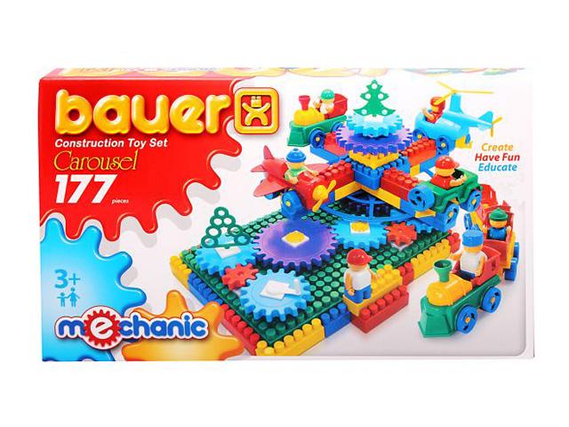 Конструктор «Mechanic» - Карусель, 177 элементовКонструкторы Bauer Кроха (для малышей)<br>Конструктор «Mechanic» - Карусель, 177 элементов<br>