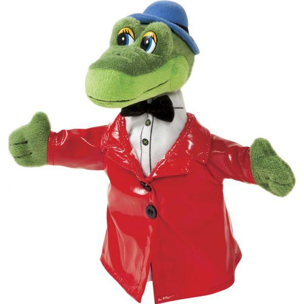 Перчаточная игрушка – Крокодил Гена из серии ЧебурашкаДетский кукольный театр <br>Перчаточная игрушка – Крокодил Гена из серии Чебурашка<br>