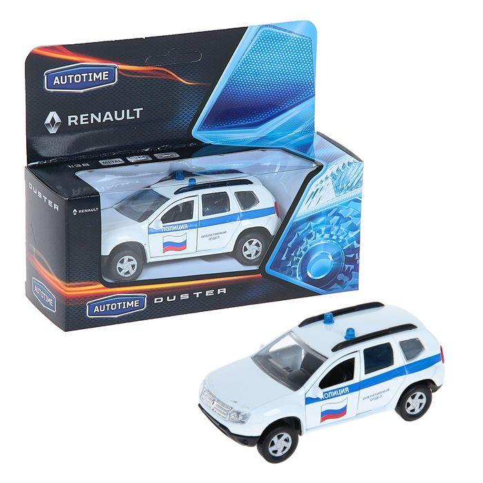 Машинка Renault Duster - Полиция, 1:38Renault<br>Машинка Renault Duster - Полиция, 1:38<br>