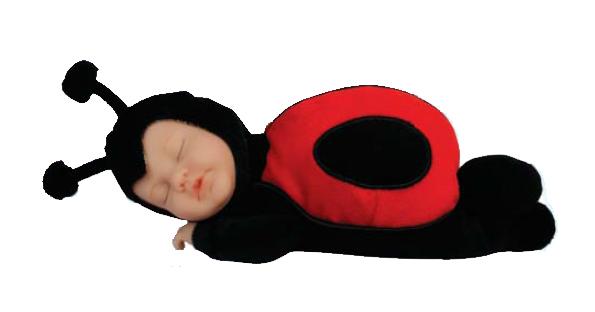 Кукла из серии «Детки - божьи коровки», 23 смКуклы детки ANNE GEDDES<br>Кукла из серии «Детки - божьи коровки», 23 см<br>
