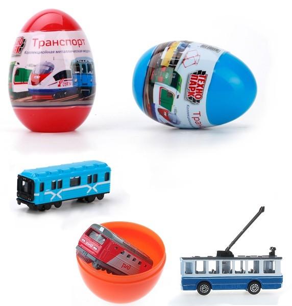 Яйцо-сюрприз. Московский городской транспортГородская техника<br>Яйцо-сюрприз. Московский городской транспорт<br>