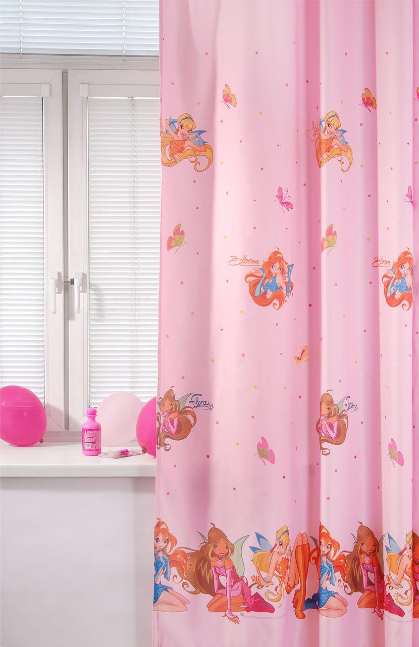 Портьера детская - Winx, розовыйДекор и хранение<br>Портьера детская - Winx, розовый<br>