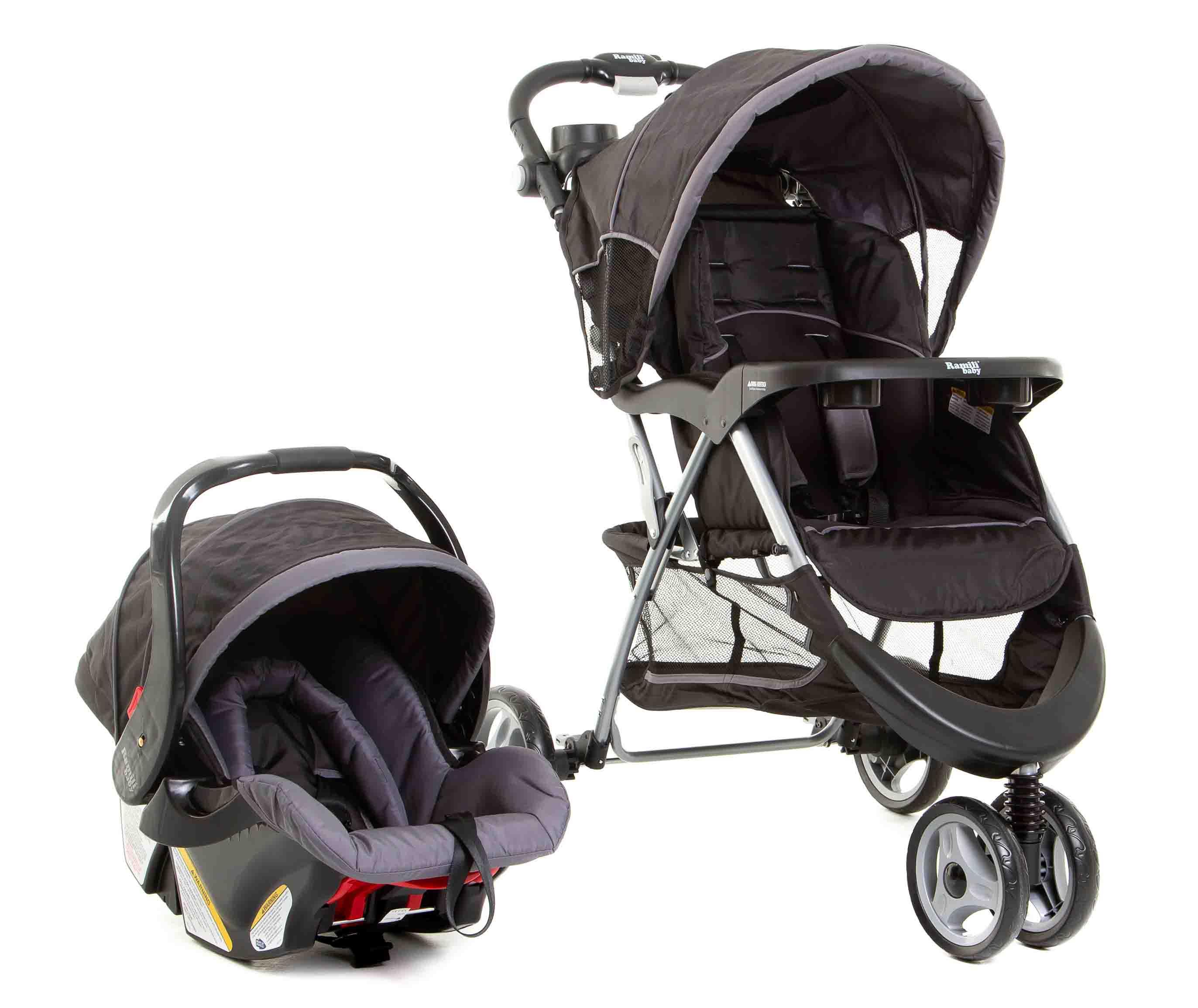 Купить Детская коляска 2 в 1 – Ramili Baby Rapid TS