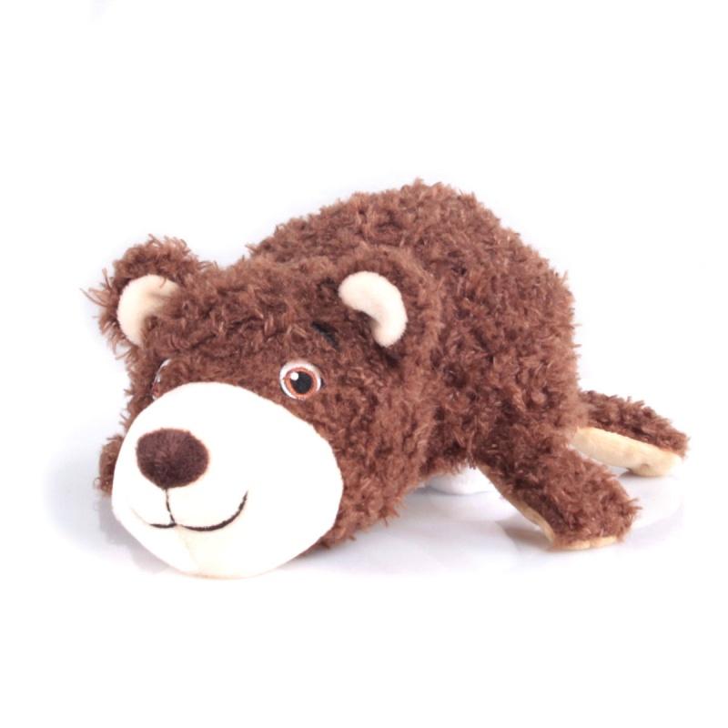 Купить Игрушка-перевертыш – Мишка-Собака, 35 см, Gulliver