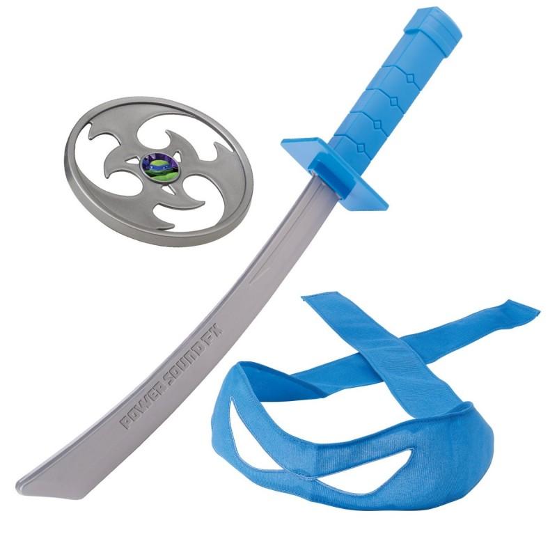 Боевое снаряжение «Черепашки-ниндзя» - Леонардо, со звукомЧерепашки Ниндзя<br>Боевое снаряжение «Черепашки-ниндзя» - Леонардо, со звуком<br>