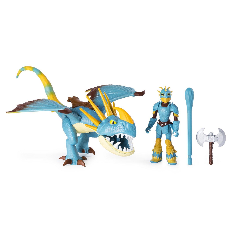 Купить Фигурка дракона и викинга Dragons - Громгильда и Астрид, Spin Master